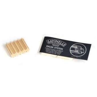 Savinelli Balsa Filters 9MM (pack of 15-pcs)