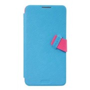 Baseus Faith Leather Case for Samsung Galaxy Note 3 - Cyan