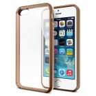 Spigen Ultra Hybrid Case for iPhone 5/5S - Cafe Brown (Original)