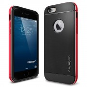 Spigen Neo Hybrid Metal Case for iPhone 6 (4.7-Inch) Metal Red