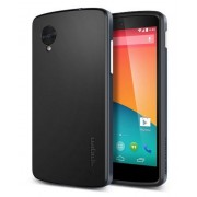 Spigen Neo Hybrid Case for Google Nexus 5 - Metal Slate (Original)