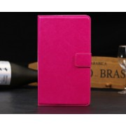 PU Wallet Leather Case for Nexus 7 FHD - Pink