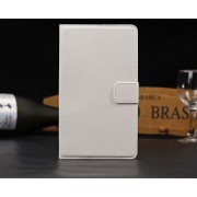PU Wallet Leather Case for Nexus 7 FHD - White