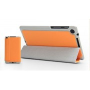 Slim PU Smart Cover for Nexus 7 FHD - Orange