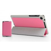 Slim PU Smart Cover for Nexus 7 FHD - Pink