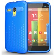 Tudia Ultra Slim Case for Motorola Moto G - Blue (Original)