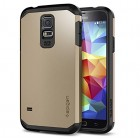 Spigen Tough Armor Case for Galaxy S5 Copper Gold