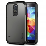 Spigen Tough Armor Case for Galaxy S5 Gunmetal