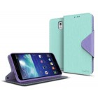 Cellto Slim Ultra Fit Premium Wallet Case for Samsung Galaxy Note 3 - Green