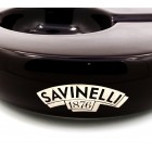 Savinelli Cigar Ceramic Ashtray - Brown