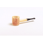 Miniature Corn Cob Pipe - Black
