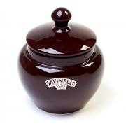 Savinelli Ceramic Tobacco Jar - Brown