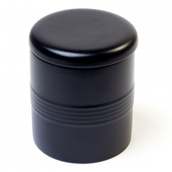 Savinelli Rolling Ceramic Tobacco Jar - Black