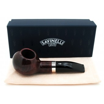 Savinelli Riviera Smooth 320 9MM Tobacco Pipe