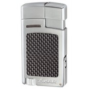 XIKAR Forte Lighter - Silver Carbon Fiber